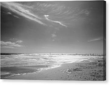 Beach Canvas Print by John Gusky