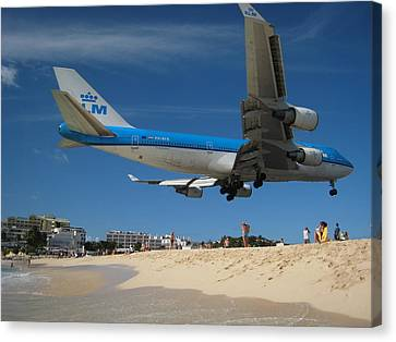 Beach Landing Canvas Print