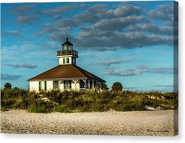 Beach Lighthouse Canvas Print