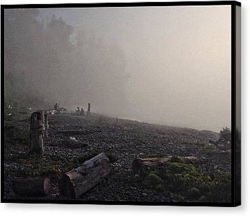 Beach Mist  Canvas Print
