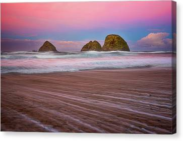 Canvas Print featuring the photograph Beach Of Dreams by Darren White