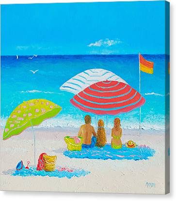 Beach Painting - Endless Summer Days Canvas Print