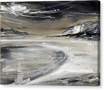Canvas Print - Beach Pool by Keran Sunaski Gilmore