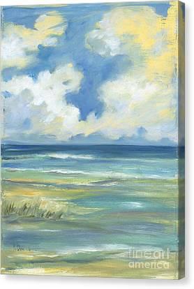 Beach Simplicity Canvas Print by Paul Brent