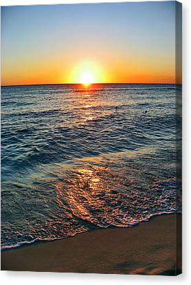Charles River Canvas Print - Beach Texture. Sun, by Andy Za