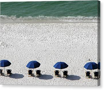 Canvas Print featuring the photograph Beach Therapy 2 by Marie Hicks