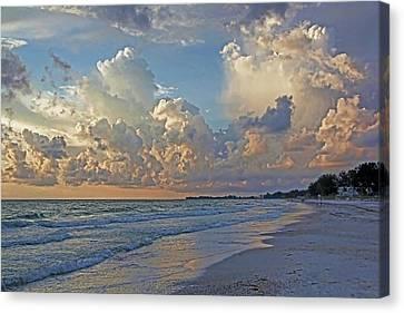 Beach Walk Canvas Print
