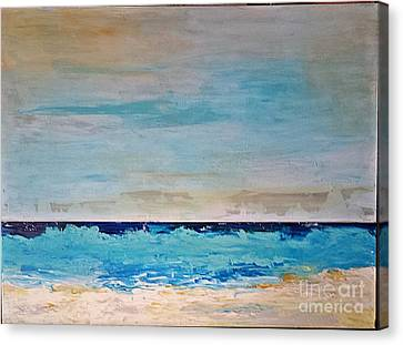 Beach1 Canvas Print