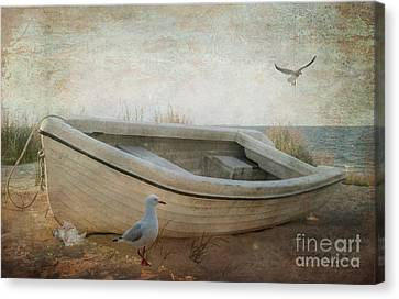 Beached Canvas Print by Chris Armytage