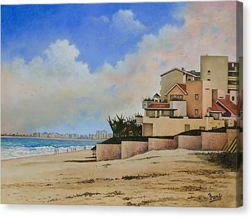 Beaches Of Cancun Canvas Print