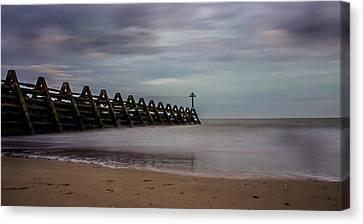 Beachscape Canvas Print by Martin Newman
