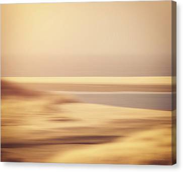 Beachscape Canvas Print by Wim Lanclus