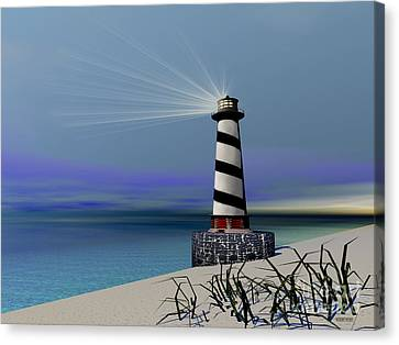Beacon Canvas Print by Corey Ford