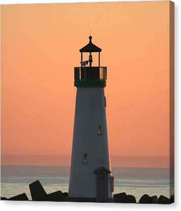 Beacon Of Light Canvas Print by Holly Ethan