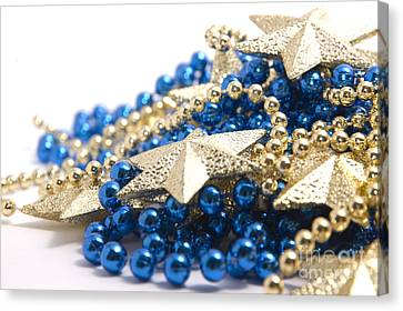 Beads And Stars Canvas Print by Andy Smy