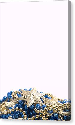 Beads And Stars Pt Canvas Print by Andy Smy