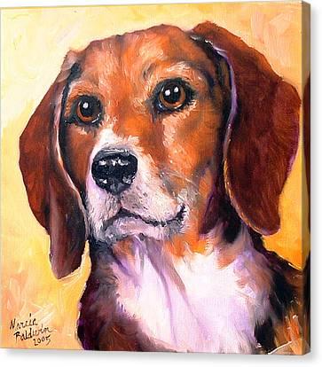 Canvas Print - Beagle Billy by Marcia Baldwin