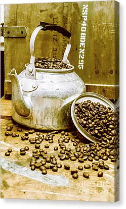 Bean Shop Cafe Canvas Print