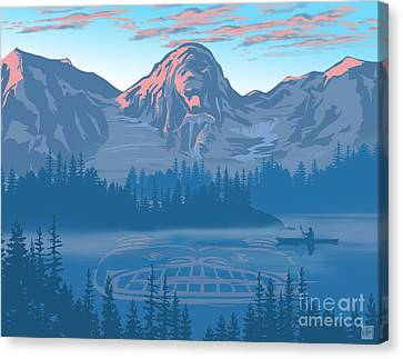 Canvas Print - Bear Country Scenic Landscape by Sassan Filsoof