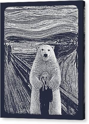 Bear Factor Canvas Print by Mustafa Akgul