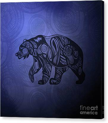 Bear Canvas Print by HD Connelly