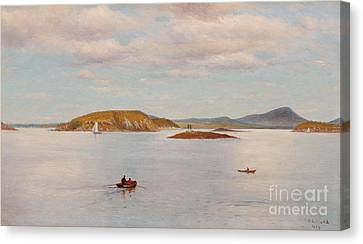 Bear Island Canvas Print by Celestial Images