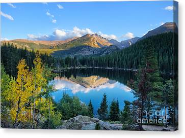 Bear Lake Reflection Canvas Print