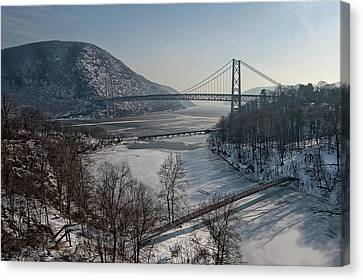 Bear Mountain Bridge Canvas Print by Photosbymo