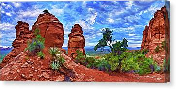 Bear Mountain Hoodoo 3 Canvas Print by ABeautifulSky Photography