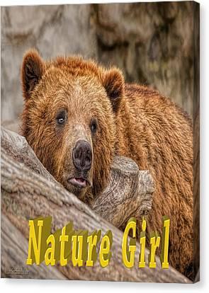 Amphibians Canvas Print - Bear Nature Girl by LeeAnn McLaneGoetz McLaneGoetzStudioLLCcom