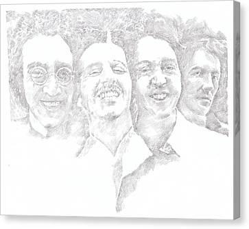 Beatles 1969 Canvas Print