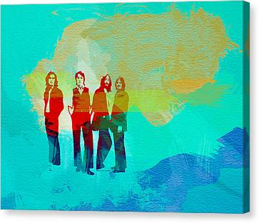 Beatles Canvas Print by Naxart Studio