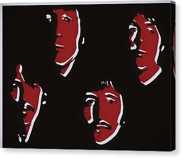 Abbey Road Canvas Print - Beatles Pop Art  by Dan Sproul
