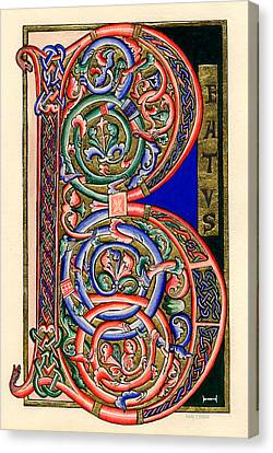 Beatus Canvas Print by Judy Dodds