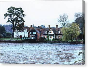 Haus Canvas Print - Beaulieu - England by Joana Kruse