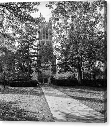 Beaumont Tower Canvas Print by Larry Carr