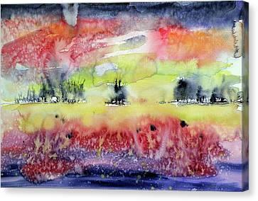 Beautiful Autumn Canvas Print by Kovacs Anna Brigitta
