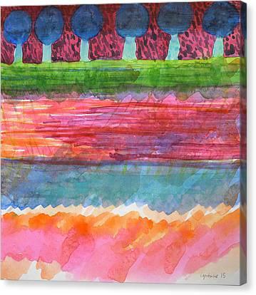 Beautiful Avenue  Canvas Print by Heidi Capitaine