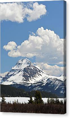 Beautiful Bow Lake Canvas Print