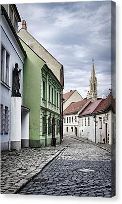 Beautiful Bratislava Canvas Print by Heather Applegate