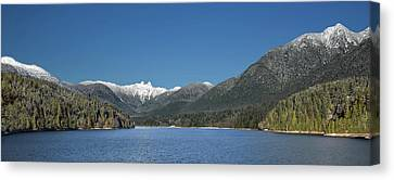 Beautiful Capilano Lake - Our Drinking Water Canvas Print by Alex Lyubar