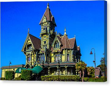 Beautiful Carson Mansion Canvas Print by Garry Gay