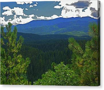 Canvas Print featuring the photograph Beautiful Colorado by Tammy Sutherland