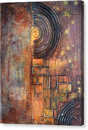 Beautiful Corrosion Canvas Print