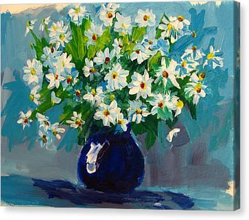 Beautiful Daisies  Canvas Print by Patricia Awapara