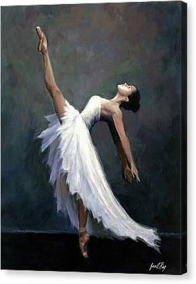 Beautiful Dancer Canvas Print