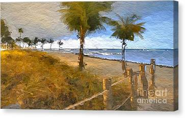 Beach Canvas Print - Beautiful Day by Anthony Fishburne