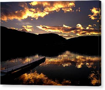 Penticton Canvas Print - Beautiful Day by Guy Hoffman