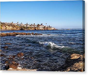 Brown Tones Canvas Print - Beautiful Day In La Jolla by Glenn McCarthy Art and Photography