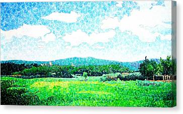 Beautiful Day In Tuscany  Canvas Print